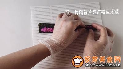 花朵寿司的做法图解5