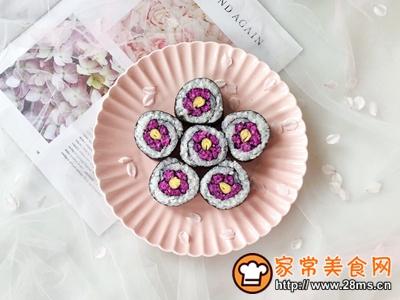 花朵寿司的做法图解11