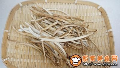 干锅鸡爪茶树菇的做法图解3
