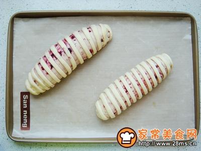 蓝莓面包卷的做法图解10