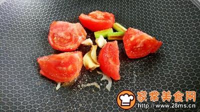 葱姜蒜辣茄茄藕的做法图解4