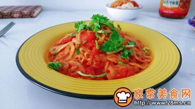 葱姜蒜辣茄茄藕的做法图解8