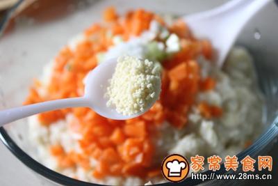 快手蒸菜玉米芙蓉虾的做法图解8