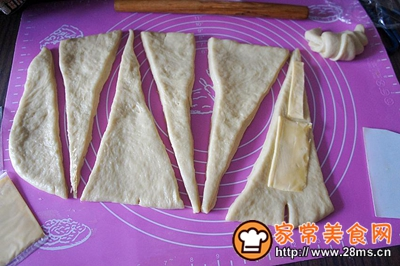 奶酪牛角包的做法图解6