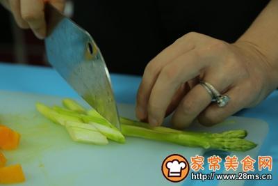芦笋虾沙拉的做法图解6