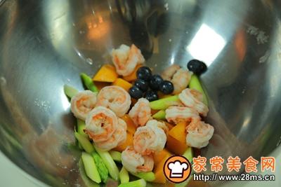芦笋虾沙拉的做法图解9