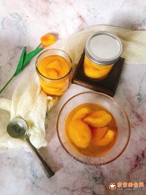 冰镇黄桃罐头的做法图解12