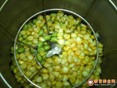 嫩玉米鲜豆浆的做法图解6
