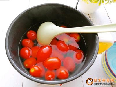 冰镇话梅渍小番茄的做法图解3