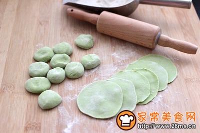 胡萝卜青椒海米饺子的做法图解14