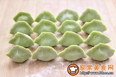 胡萝卜青椒海米饺子的做法图解17