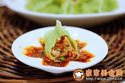 胡萝卜青椒海米饺子的做法图解21