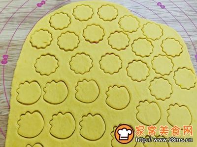 宝宝零食南瓜饼干的做法图解6