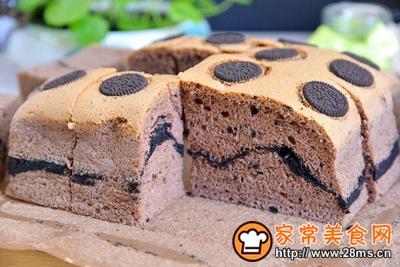 奥利奥古早蛋糕的做法图解21