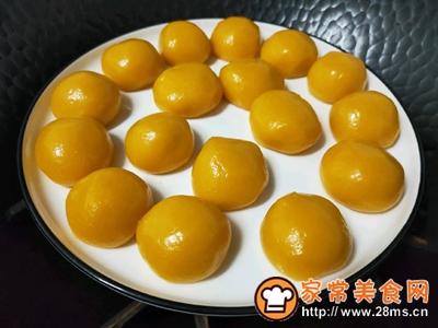 南瓜椰蓉球的做法图解9