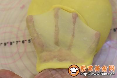 日式手撕杏子酱吐司的做法图解5