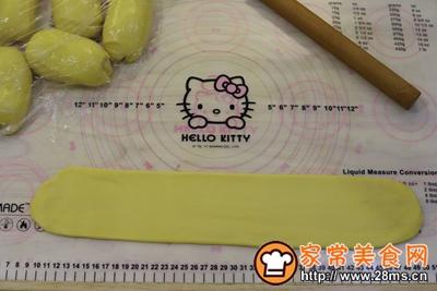日式手撕杏子酱吐司的做法图解7