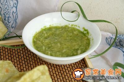 翡翠烙馍卷蒜汁儿的做法图解15