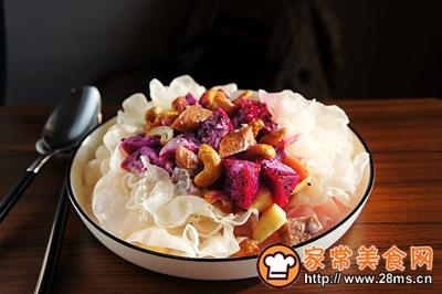 银耳牛肉肠水果沙拉的做法图解10