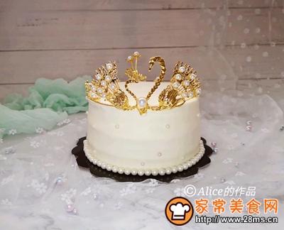 天鹅皇冠蛋糕的做法图解10