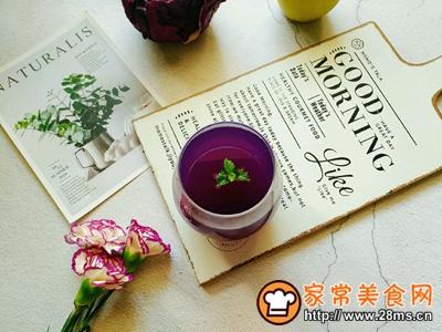 紫甘蓝雪梨汁的做法图解7