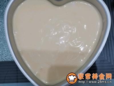 酸奶心型蛋糕的做法图解6