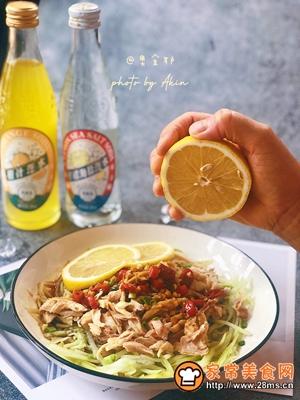 减脂|网红酸辣柠檬手撕鸡的做法图解10
