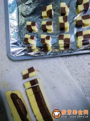 双色棋格饼干的做法图解20