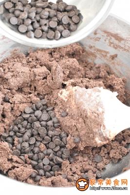 双重巧克力曲奇的做法图解6