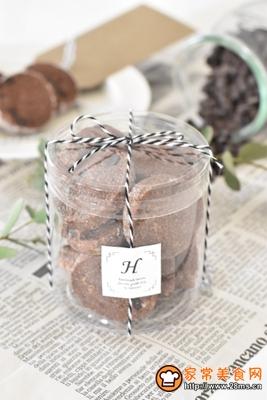双重巧克力曲奇的做法图解12