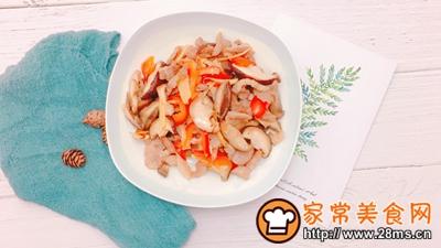 香菇炒肉的做法图解6
