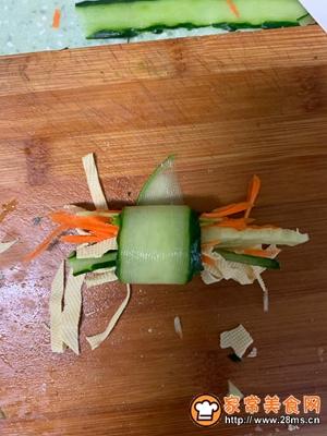 黄瓜三丝卷的做法图解4