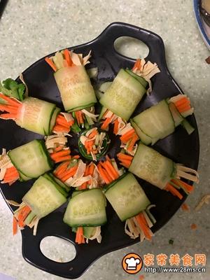 黄瓜三丝卷的做法图解5