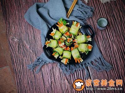 黄瓜三丝卷的做法图解7