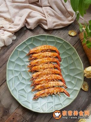 香烤大虾的做法图解1
