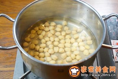 鹰嘴豆彩椒面包塔配豆浆的做法图解2