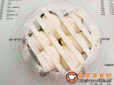 六角星白面包的做法图解10