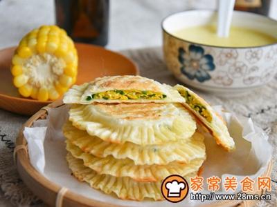 太阳饼饺皮版韭菜盒子的做法图解10
