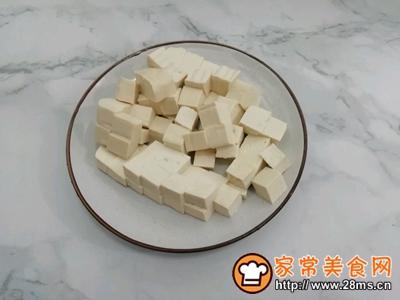 肉末豆腐的做法图解2