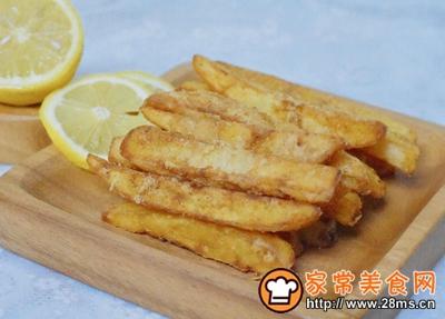 蒜香薯条的做法图解9