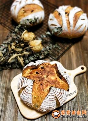荔蔓多谷面包的做法图解19