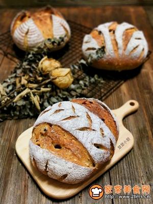 荔蔓多谷面包的做法图解20