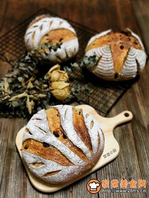 荔蔓多谷面包的做法图解21