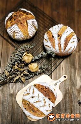 荔蔓多谷面包的做法图解22
