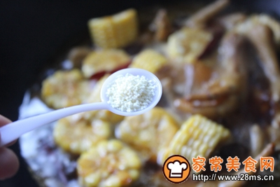 玉米鸡爪的做法图解14