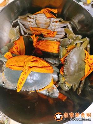 香辣螃蟹的做法图解3
