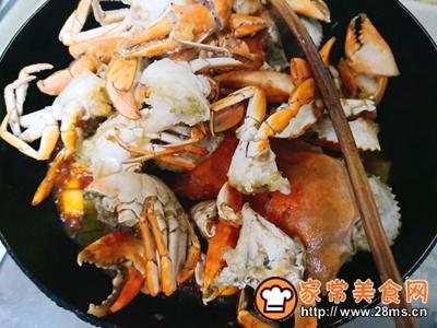 香辣螃蟹的做法图解15