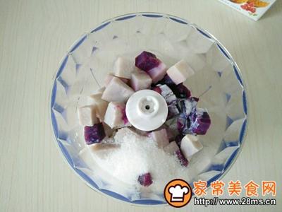 肉松小贝(紫薯芋泥馅)的做法图解10