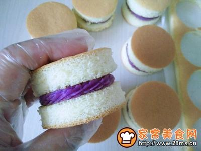 肉松小贝(紫薯芋泥馅)的做法图解13