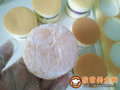 肉松小贝(紫薯芋泥馅)的做法图解14